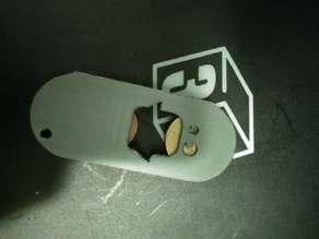 Beer opener/Token holder