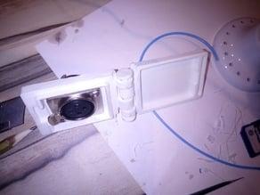 Lockable box for Neutrik D connectors in dashboard
