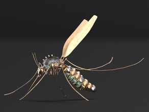 Mosquito - SteamPunk version