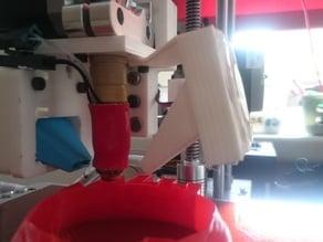 Printrbot Aluminium extruder extra fan v2