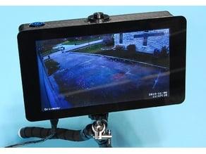 RaspberryPi Portable Touchscreen Display