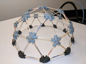 Openscad Geodesic dome