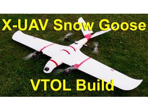 X-UAV Snow Goose - VTOL components