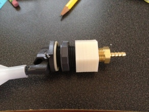 1/2 inch to 1/4 inch NPT Adapter