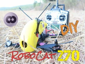 RoboCat 270mm DIY Quadcopter Drone - Amazing!
