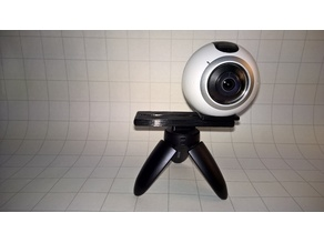 Samsung Gear 360 - 3D Picture tripod mount