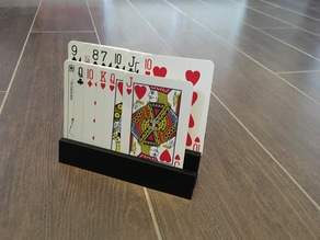 Playing Card Holder For Kids