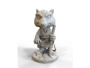 Splinter 3D Scanned Model