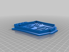Transformers Autobot Cookie Cutter