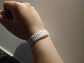 Bracelet with polygon stubs - Ninjaflex