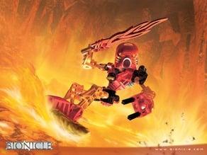Tahu's Fire Sword