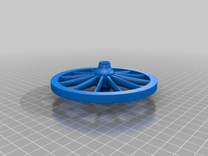 remix of cannon wheel for model of cannon from Castle of Buedingen