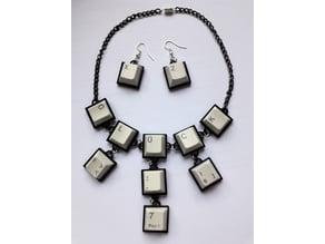Keyboard Jewellery