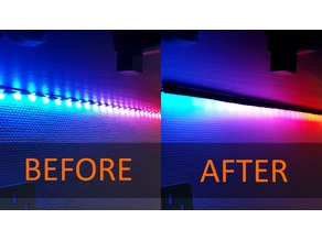 LED Strip Angle Kit