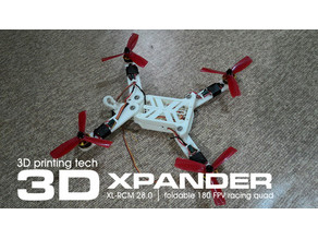 XPANDER - 180mm foldable compact FPV racing drone