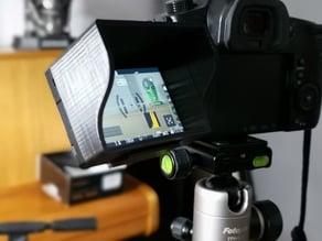 LCD Sun Hood for GH5