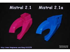 """Mistral 2.1"" Extruder Cooling Duct for the Anet A8 Printer"
