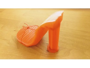 High Heel Shoe Model