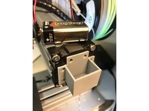 SnapMaker Arm 9v Battery mount for LED light