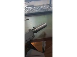 Silencer adapter for mk23