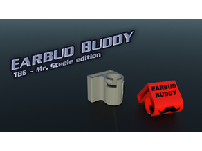 Earbud Buddy - TBS Mr.Steele edition