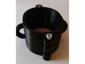 Magnet locked Cuffs