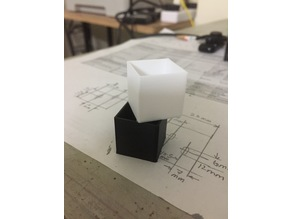 Extrusion multiplier calibration cube