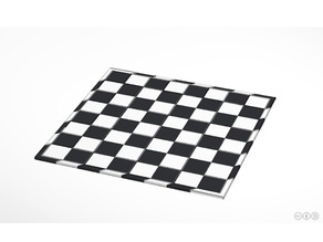 Tablero de ajedrez puzle