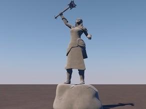 Gaerta Weissbaer Monument from GuildWars2