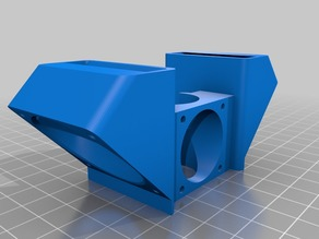 All-in-one fan duct for E3D v6 Remix