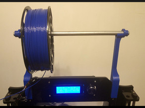 RepRap I3 Prusa Infitary (hbi3) filament holder