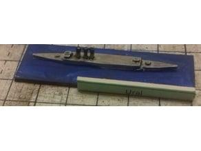Russian Merchant Cruiser Ural