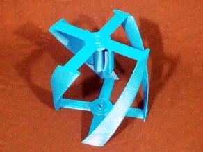 Vertical Wind Turbine - Parametric