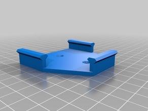RGB LED remote holder neodimium magnets