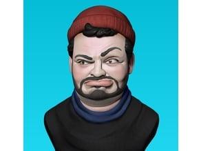 Ethan Klein caricature