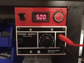 Graymark Model 803 Power Supply Case Improvements