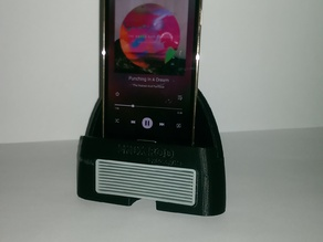 The SKUX POD (Smartphone amplifier and stand)