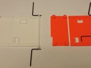 Prusa i3 Plus - Improved rambo mini cover.