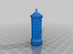 British Victorian Postbox