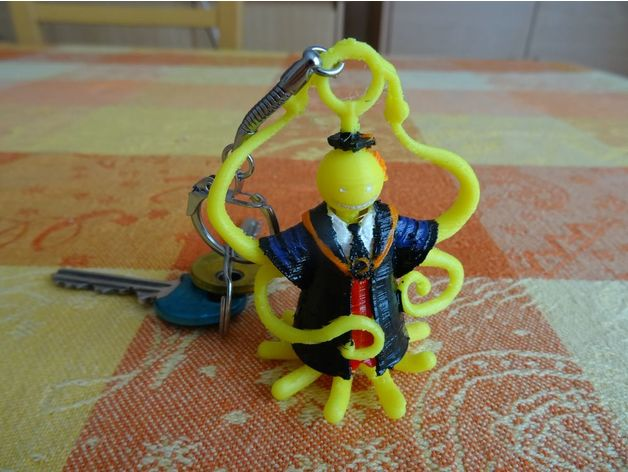 Koro Sensei HD Remix (2017) Key Ring version (porte-clé