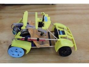 Autonomous toy car and FPV car