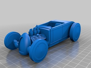 Tinker Toy Vehicles Roadster
