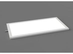 LED Panel Mini Ultra Flat 12V DC Recessed Light 6W 200 x 100 x 5 mm Furniture Installation
