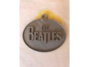 Beatles keychain