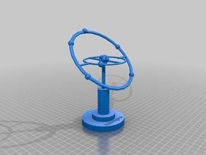 Nitrogen Atom Display
