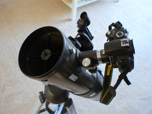 Nikon DSLR adapter for Orion telescopes