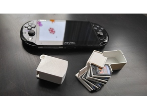 Ps Vita Cartridge Case