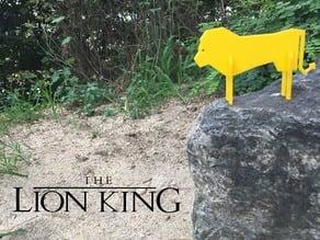 Simple Animals 12 - Lion King