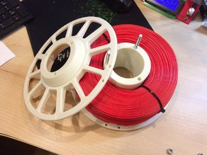 Composite coil for filament. D=220 mm