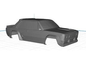 Fiat 131 Abarth Body Car